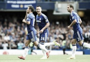 Chelsea 2-0 Leicester City: The Blues victorious at the Bridge