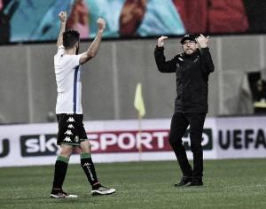 Sassuolo enter the European stage