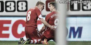 Newcastle et Southampton dos à dos