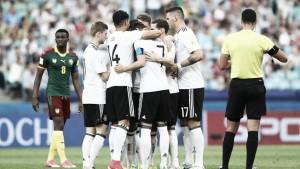 Alemanha vence Camarões e enfrenta México nas semifinais da Copa das Confederações