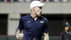 Kyle Edmund sends Britain into the semi-finals of the Davis Cup