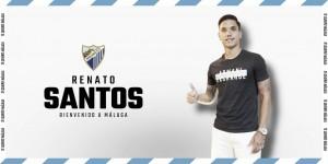 Renato Santos, segunda incorporación veraniega del Málaga