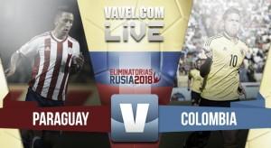 Resultado Paraguay vs Colombia por las Eliminatoria Rusia 2018 (0-1)