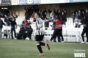 Chus Hevia anota el gol de la jornada 29 de Segunda División B