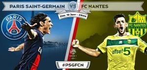 PSG vs Nantes en vivo y en directo online