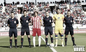 Fotos e imágenes del Almería 1-1 Alcorcón, jornada 33 de la Liga Adelante