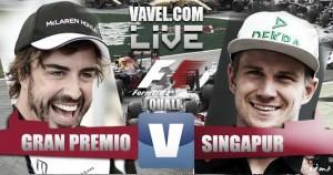 Pole para Nico Rosberg en una clasificación marcada por la sorpresa de Vettel