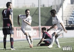 Fotos e imágenes del RM Castilla 1-0 SD Huesca de la 10ª jornada de segunda división B, grupo II
