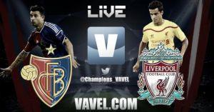 Liverpool vs Basilea en vivo online