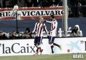 Fotos e imágenes del Atl. Madrid 3-1 Rayo Vallecano de la jornada 20ª de la Liga BBVA