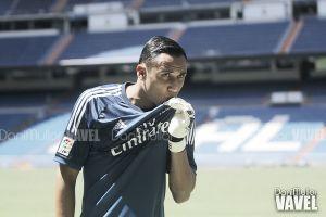Fotos e imágenes de la presentación de Keylor Navas, por el Real Madrid CF