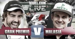 Clasificación GP de Malasia 2016 de F1 en vivo y en directo online