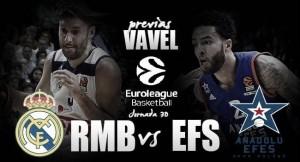 Previa Real Madrid - Anadolu Efes: prueba de cara a los Playoffs