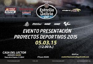 Presentación del Estrella Galicia 0,0 Marc VDS