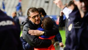"Sergio Egea: ""Estamos contentísimos de jugar contra un equipo europeo"""