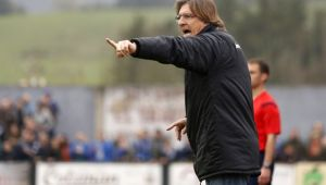 """Sergio Egea: """"Soy partidario de pensar solo en lo que hace el Real Oviedo"""""""