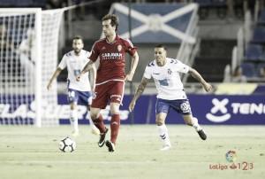Iñigo Eguaras, haciendo historia con el Real Zaragoza