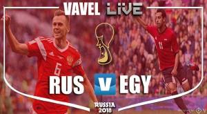 Russia vs Egypt Live Stream Score Commentary in World Cup 2018