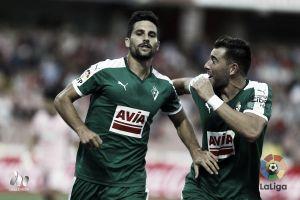 Adrián González, una baja sensible para el Eibar