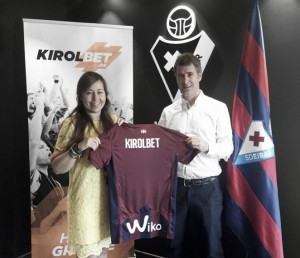 Eibar y Kirolbet, alianza renovada