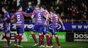 El Eibar gana al Valladolid y se lleva el trofeo de la Galleta
