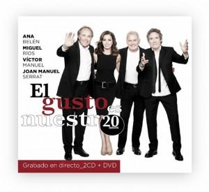 """""""El gusto es nuestro 20 años"""" a la venta el próximo 21 de octubre"""