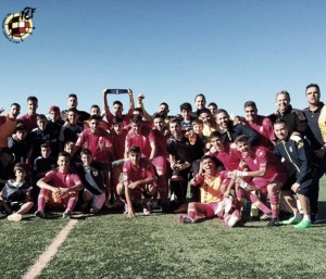 El Juvenil 'A', clasificado para semifinales de la Copa de Campeones