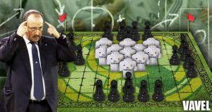 El Tablero Real: el 4-3-3 de Blanc amenaza a los experimentos de Benítez