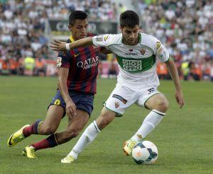 Elche CF 0-0 FC Barcelona: Barca keep title hopes alive