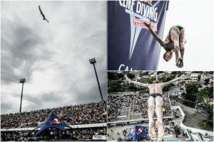 Cali fue testigo de los clasificatorios del Red Bull CliffDiving