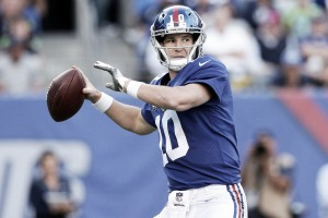 New York Giants bench Eli Manning; Geno Smith to start Sunday at Oakland