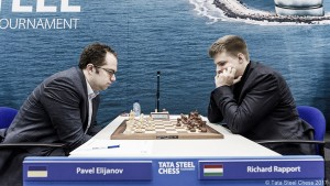 Tata Steel Chess 2017: Eljanov se coloca líder