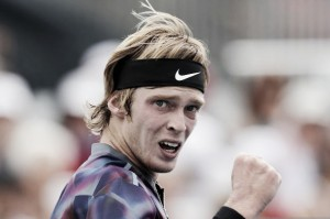 US Open: Andrey Rublev defeats David Goffin to reach his first major quarterfinal
