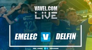 Emelec y Delfín conservan su invicto y con ello el liderato del torneo (1-1)