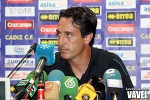 """Emery: """"Buscábamos la participación de los jugadores y lo hemos hecho"""""""