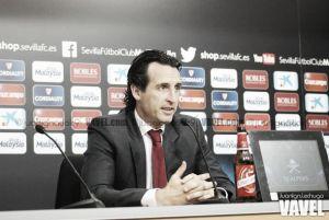 """Unai Emery: """"El partido de mañana es decisivo de cara a la clasificación"""""""