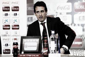 """Emery: """"La afición ha participado con los jugadores para conseguir la victoria"""""""