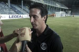 """Emery: """"El equipo ha estado bien, pero no ha mantenido la intensidad"""""""