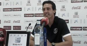"""Emery: """"Me motiva debutar ante el Atlético"""""""