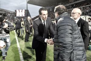 Emery reconhece dificuldade e elogia jogadores pela vitória diante do Angers