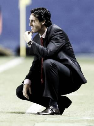 """Emery: """"El empate no es suficiente"""""""