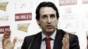 """Unai Emery: """"Tenemos la ilusión de ganarle al Barça"""""""
