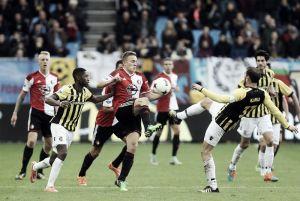 Vitesse y Feyenoord no se hacen daño