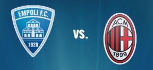 Live Empoli vs Milan, diretta Serie A