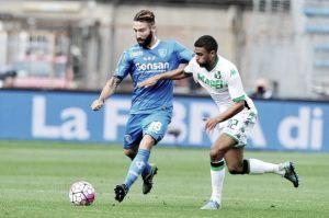 Maccarone rompe l'imbattibilità del Sassuolo, l'Empoli vince 1-0