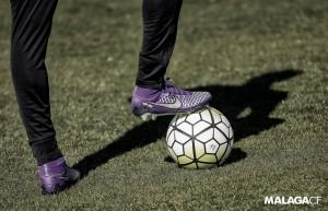 Protagonismo del balón en la sesión de entrenamiento previa al partido frente al Granada