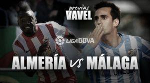 UD Almería - Málaga: la necesidad de los tres puntos
