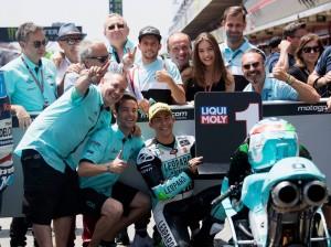 GP Catalunya, Moto3: stupenda vittoria di Bastianini, Bezzecchi secondo