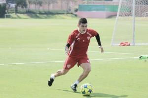Edgar Alaffita, ilusionado por jugar en Primera División