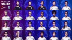 Mark Sampson announces England's Euro 2017 squad